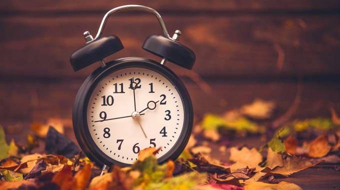 Cambio dell'ora domenica 29 ottobre