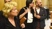 Gessica Notaro al momento della lettura della sentenza non era in aula (foto Migliorini)