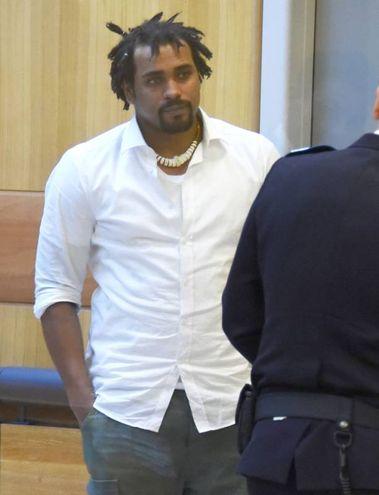 Eddy Tavares era presente in tribunale (foto Migliorini)