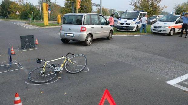 L'incrocio teatro dell'incidente a San Varano (foto Frasca)
