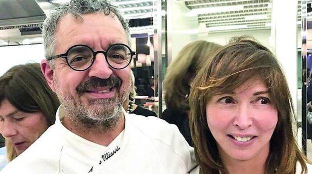 Mario Uliassi con Eleonora Gazzotti