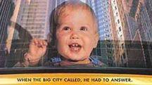 La locandin del film 'Baby birba' del 1994  ambientato  a New York