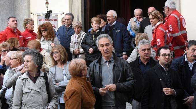 Il funerale di Maria Pittana