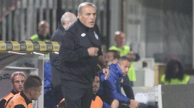 Fabrizio Castori, allenatore del Cesena (foto Ravaglia)