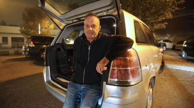 Il cabarettista Marco Della Noce (Ansa)