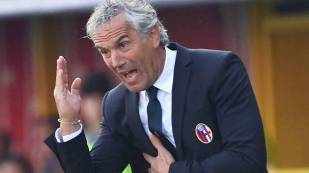 L'allenatore del Bologna Roberto Donadoni (foto Schicchi)