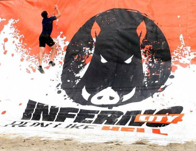 Alcuni momenti dell'Inferno Run (Umberto Visintini / New Press Photo)