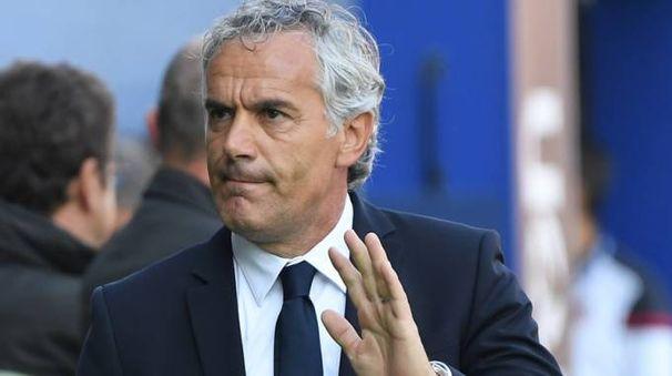 L'allenatore del Bologna, Roberto Donadoni (FotoSchicchi)