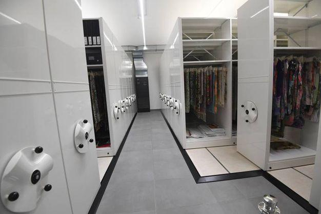 Anche aule didattiche, laboratori e archivi di tessuti (foto Schicchi)