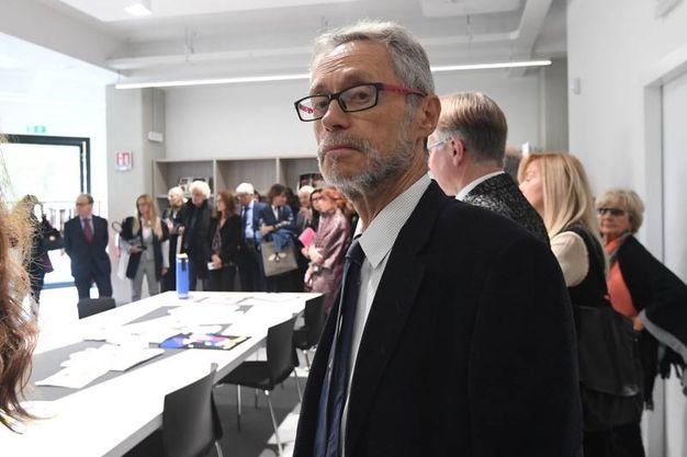 Roberto Grandi, presidente dell'Istituzione Bologna Musei (foto Schicchi)