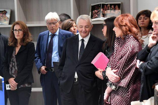 Masotti fa gli onori di casa all'inaugurazione di Fri (foto Schicchi)