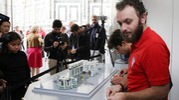 Alcuni momenti della costruzione (Marco Mori / New Press Photo)