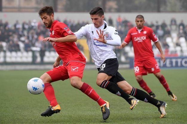 0-0 del Carpi contro la Pro Vercelli (foto LaPresse)