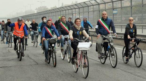 La biciclettata lungo la Paullese
