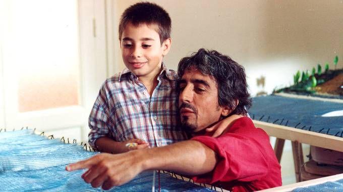Una scena di 'Aaa Achille', il piccolo protagonista soffre di balbuzie