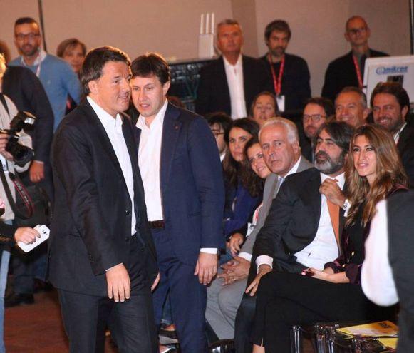 Matteo Renzi a Firenze (foto Umberto Visintini/New Pressphoto)