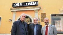 Don Nedo Mannucci, Daniele Griggio e Gianni Rossi