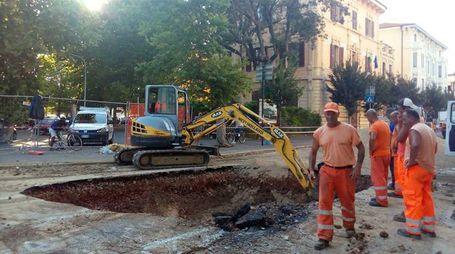 Lavori stradali a Grosseto