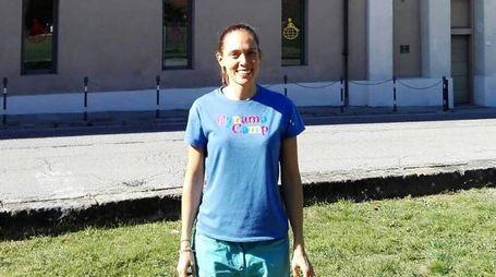 Giulia Santalmasi, responsabile delle attività nell'oasi
