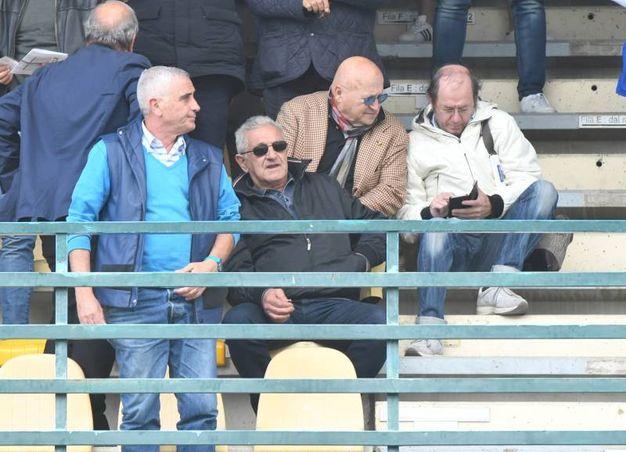 Carrarese-Arzachena 2-1, le foto della partita. Corrado Orrico in tribuna (Delia)