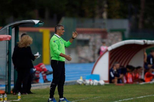 Gavorrano-Lucchese, le foto della partita (LaPresse)