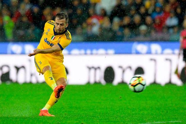 Udinese-Juventus 6-2, Pjanic (Afp)