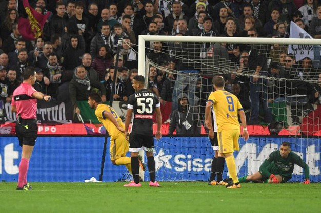 Udinese-Juventus 4-2, Khedira (LaPresse)