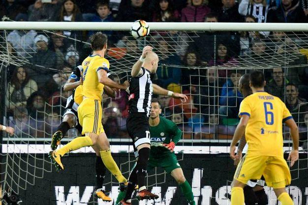 Udinese-Juventus 2-3, Rugani (Afp)