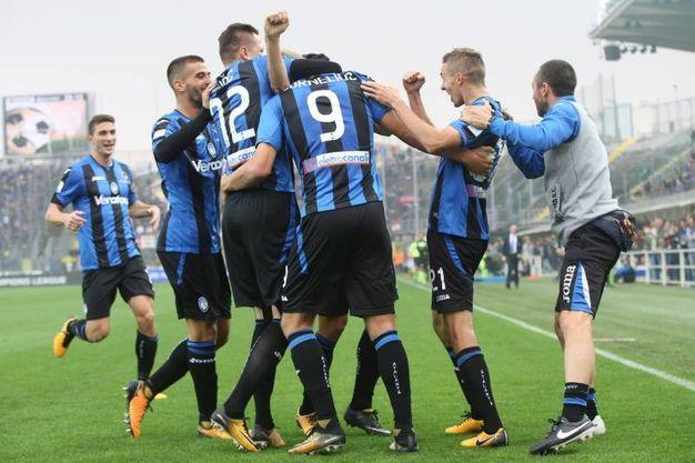 Atalanta-Bologna 1-0, Cornelius (LaPresse)