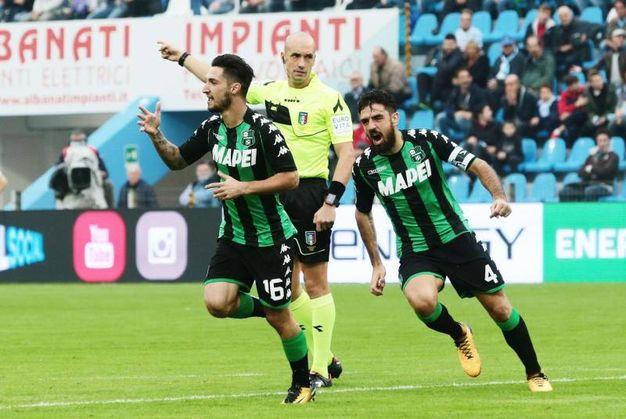 Spal-Sassuolo 0-1, Politano (Ansa)