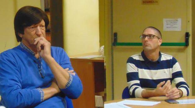I sindaci di Camairago, Giuseppe Gozzini, e Cavacurta, Daniele Saltarelli