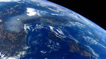La Pianura Padana soffocata dallo smog nella foto dell'astronauta Nespoli