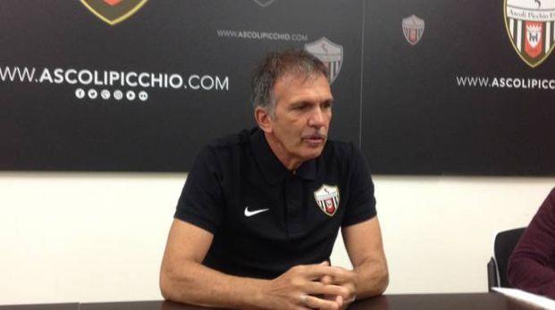 Il tecnico dell'Ascoli Fulvio Fiorin alla vigilia del match con lo Spezia