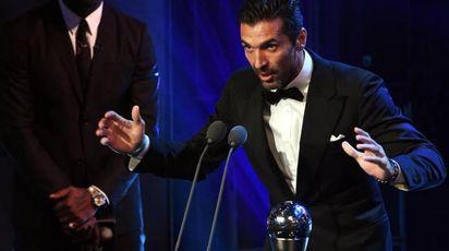 A Buffon 'The best Fifa awards' (Ansa)