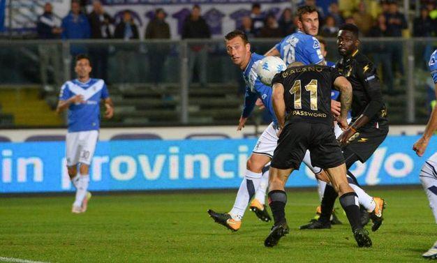 L'1-1 del Bari (La Presse)