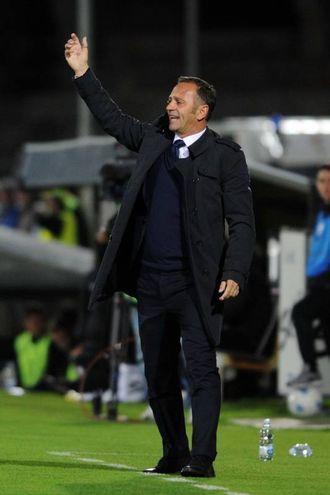 Mister Gallo dello Spezia (foto Lapresse)