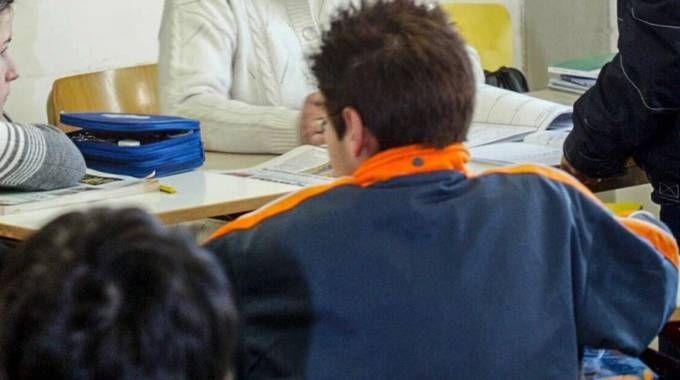 Alcuni alunni (foto archivio)