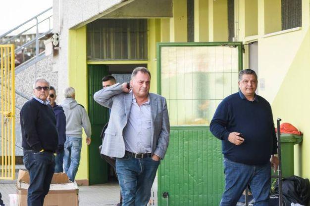 Taddeo lascia lo stadio (FotoFiocchi)