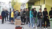 I giocatori del Modena (FotoFiocchi)