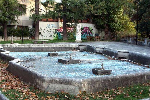 I giardini pubblici di viale De Gasperi (foto LaBolognese)