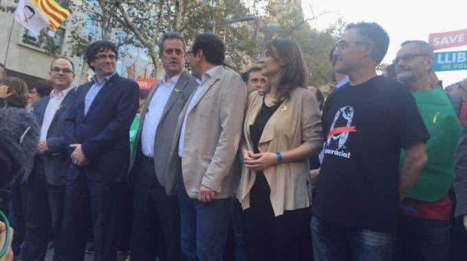 Ramon Tremosa, l'ultimo a destra in prima fila