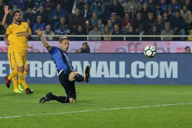 Il gol di Kurtic (Ansa)