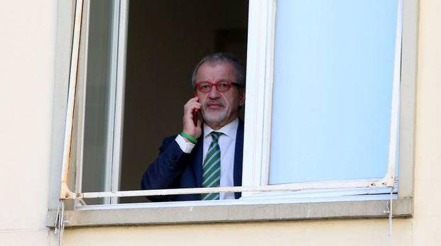 Il governatore Roberto Maroni