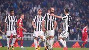 Juventus-Spal, Higuain (foto Lapresse)