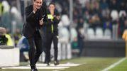Juventus-Spal, Semplici (foto Lapresse)