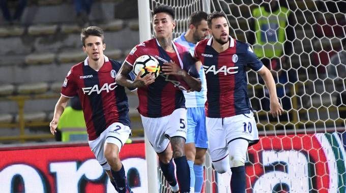 Il gol del Bologna non è bastato a fermare la Lazio (foto Schicchi)