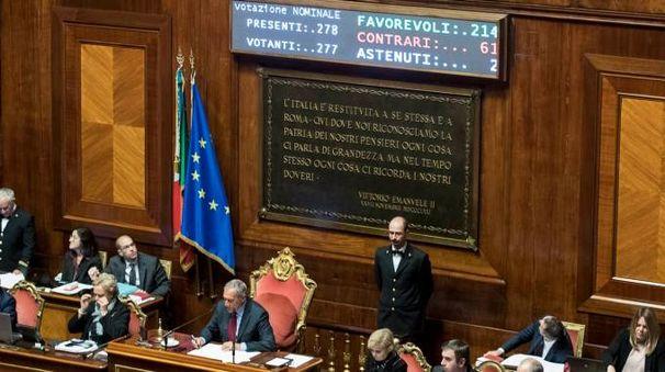 Rosatellum bis, approvata la nuova legge elettorale (LaPresse)