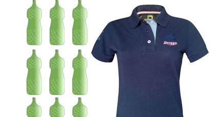 Felpe, polo e giacconi ottenuti da bottiglie di plastica (da Ulule)