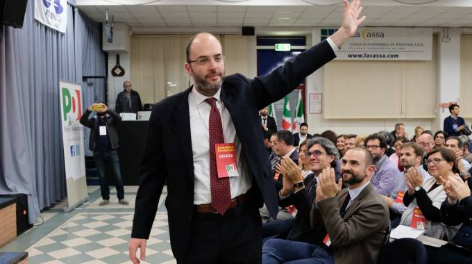 Il segretario del Pd Francesco Critelli