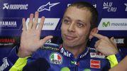 Valentino Rossi al MotoGp di Malesia (foto Ansa)